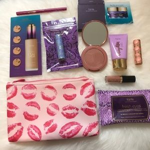 Tarte 10 piece Beauty Bundle & Ipsy Makeup Bag